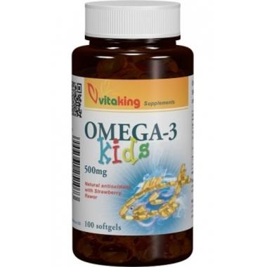 Omega 3 pentru copii 500mg 100cps