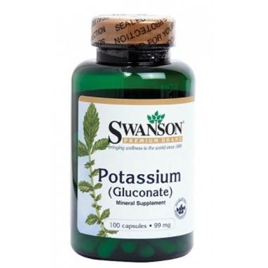 Potasiu (Gluconate) 99mg 100cps