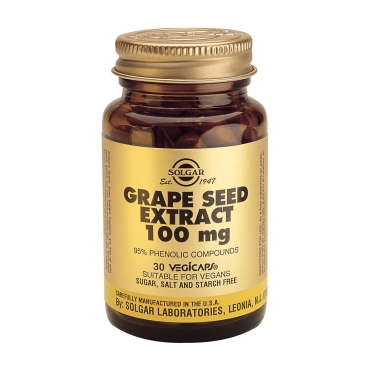 Grape Seed Extract 100mg veg. caps 30s