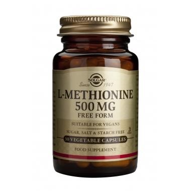 L-Methionine 500mg veg. caps 30s