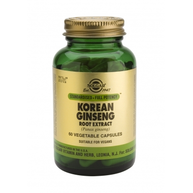 SFP Korean Ginseng Root Extract veg. caps 60s
