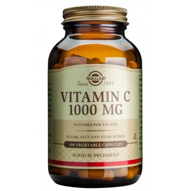 Vitamin C 1000mg veg. caps 100s
