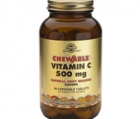 Vitamin C 500mg chewable tabs 90s (orange)