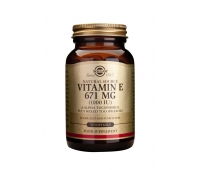 Vitamin E 1000IU softgels 50s