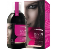 Beautin Collagen str/van liquid 500ml (mango-pepene)