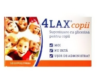 4Lax copii supozitoare cu glicerina x 12