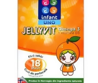 Infant Uno Jellyvit Omega 3 x 18 jeleuri