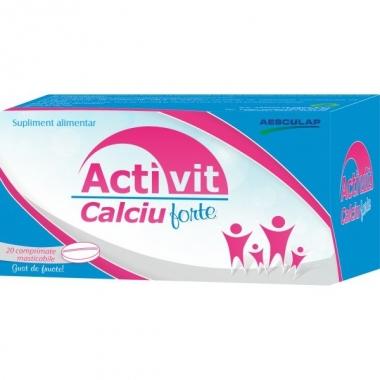 Activit Calciu Forte x 20 compr. masticabile