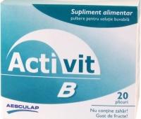 Activit B 20 plicuri