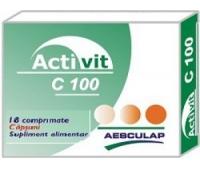 Activit C 100mg capsuni x 18cpr