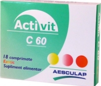 Activit C 100mg exotic x 18cpr