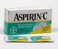 Aspirin + C 400mg 10compr.eff.