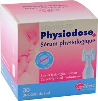 Physiodose Ser Fiziologic cutie cu 40 unidoze