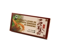 Extract de cordiceps si ginseng 10 fiole