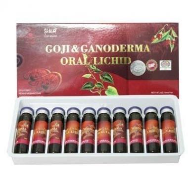 Goji si ganoderma oral lichid 10ml 10 fiole