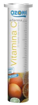 Vitamina C 180 mg efervescenta