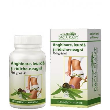 Anghinare, leurda si ridiche neagra 72cpr -20% GRATIS