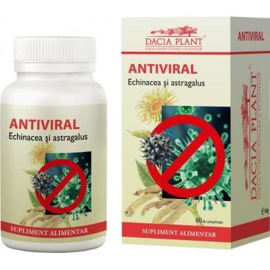 Antiviral echinacea & astragalus 60cpr