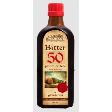 Remediu Bitter 50 plante - Ganoderma 200ml