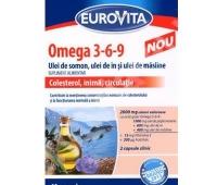 Eurovita Omega 3-6-9 60cps