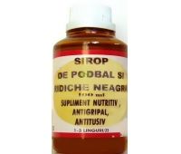 Sirop Ridiche Neagra 100ml