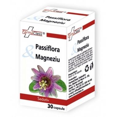 Passiflora & Magneziu 30cps