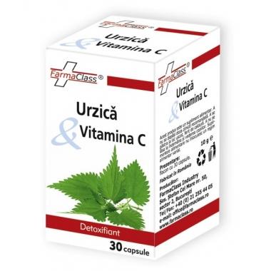 Urzica & Vitamina C 30cps