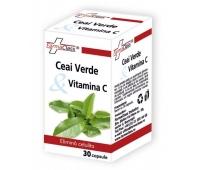Ceai Verde & Vitamina C 30cps