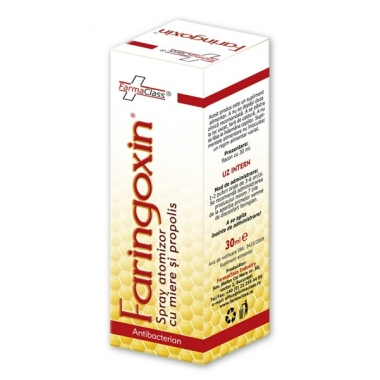 Faringoxin spray miere & propolis 30ml