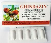 Ghindazin supozitoare 1,5g x 10