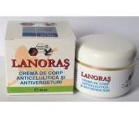 Lanoras crema anticelulitica si antivergeturi 50ml