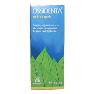 Ossidenta apa de gura 50ml