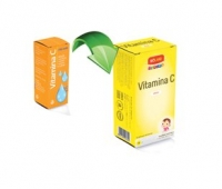 Vitamina C Junior Bioland solutie 10ml
