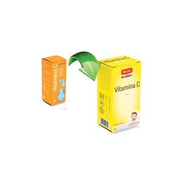 Vitamina C Junior Bioland solutie 10ml