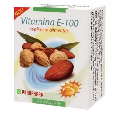 Vitamina E 100 x 40 cps