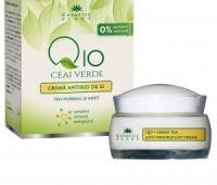 Crema de zi cu Q10, si complex mineral 50ml + Crema maini 30ml GRATIS