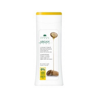 Lotiune tonica reconfortanta cu ulei de argan si aloe (Bio) 200ml