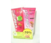 Cellufight Gel anticelulitic + Crema exfolianta dus -70%