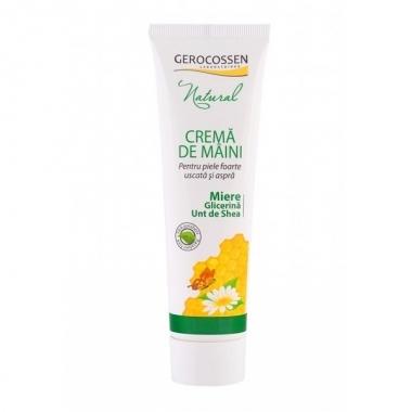 Natural Crema maini miere & unt de shea 100ml