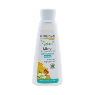 Natural Lotiune tonica cu miere 200ml