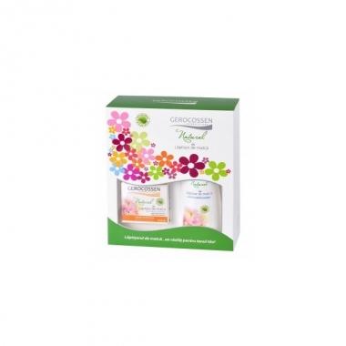 Set cadou Laptisor de matca (crema nutritiva ten uscat + lapte demachiant GRATIS)