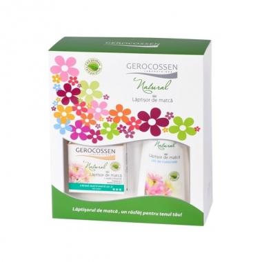 Set cadou Laptisor de matca (crema matifianta + gel curatare GRATIS)