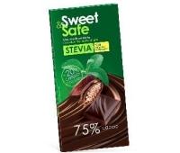 ciocolata amaruie indulcitor stevie 90 gr