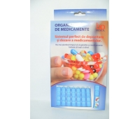 Organizator medicamente 28 casete BP Medical