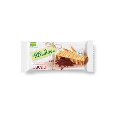 Napolitane cu crema cacao (bio) 40 gr