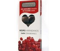 Ciocolata neagra coacaze 150g