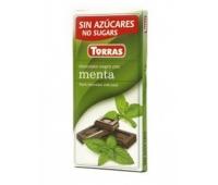 Ciocolata neagra menta 75g