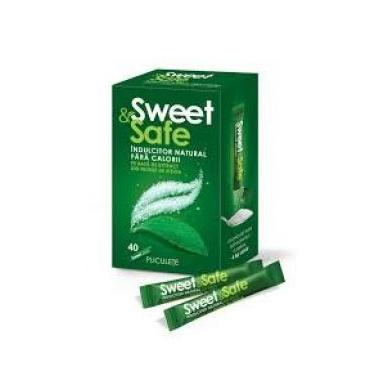 Stevia indulcitor sweet &safe 40 dz