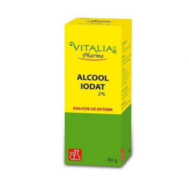 Alcool iodat 2% 40g