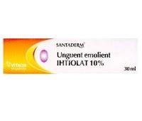 Unguent emolient Ihtiolat 10% Santaderm 30ml